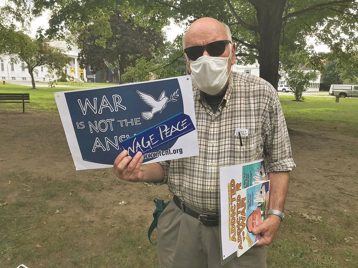 On Hiroshima anniversary, protesters want nukes on people's minds