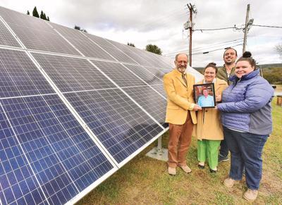 Innovative solar project dedicated by SEVCA
