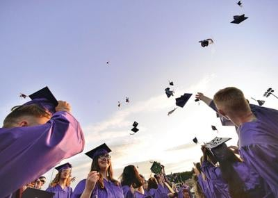 Seniors submit clips for virtual graduation