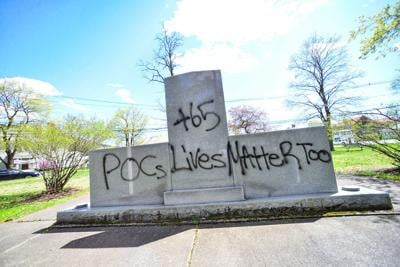 Our Opinion: Spray paint the wrong tool for correcting Brattleboro's history
