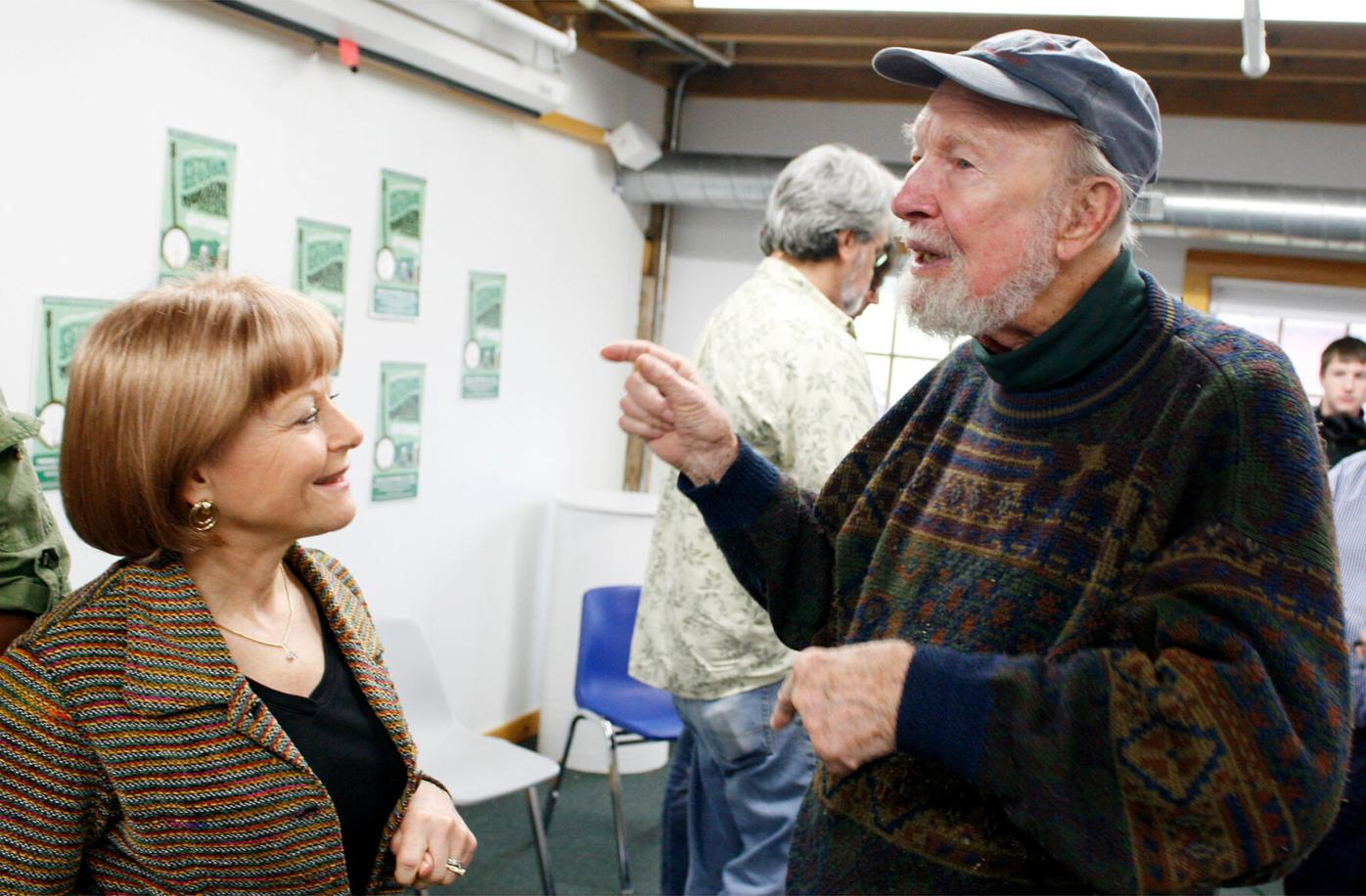 Pete Seeger's roots in Brattleboro were deep