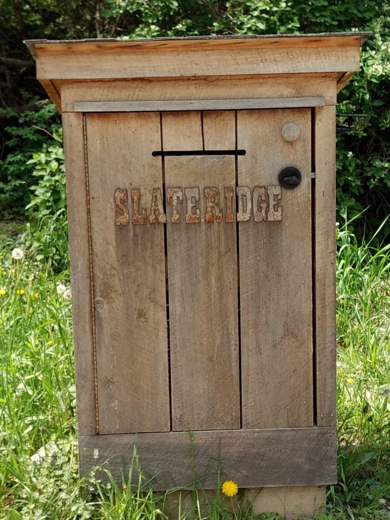 Slate Ridge mail box