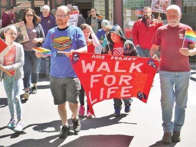 AIDS Walk honors longtime supporter Lynn Martin