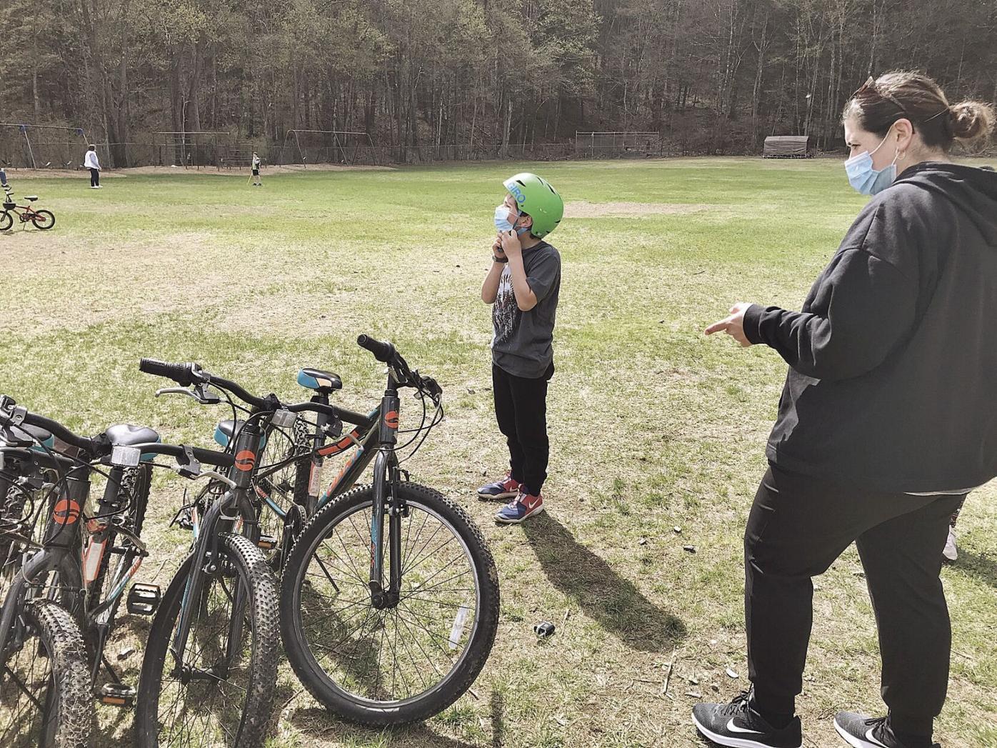 Academy School biking