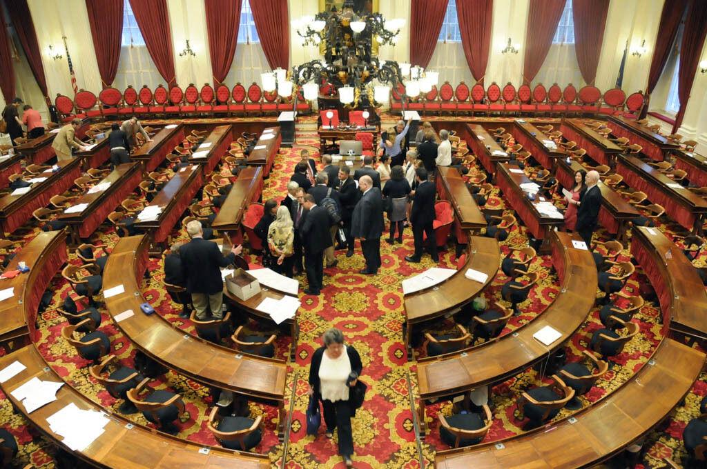 Gavel falls on Legislature