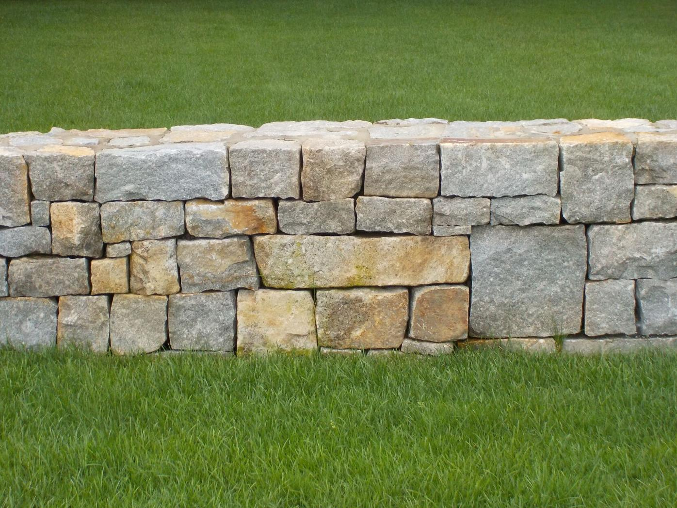 Stone walls are difficult to build well, but should last forever.JPG