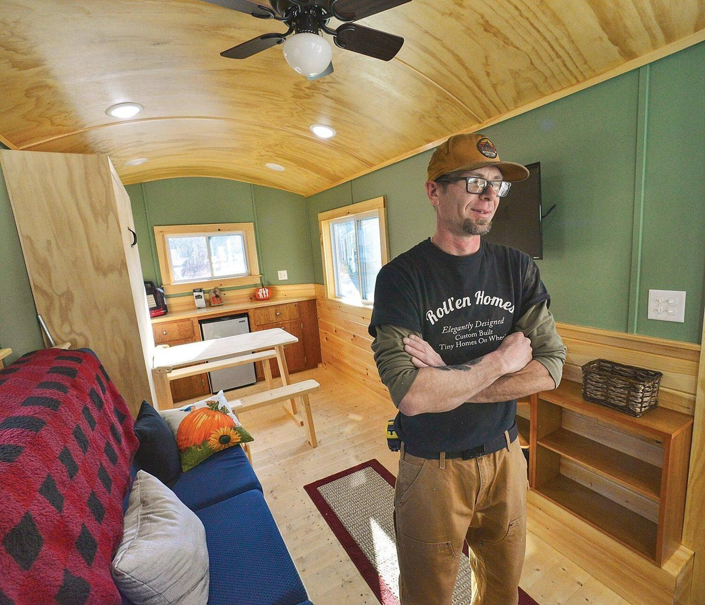 Tiny home business 'rolls' in to Townshend