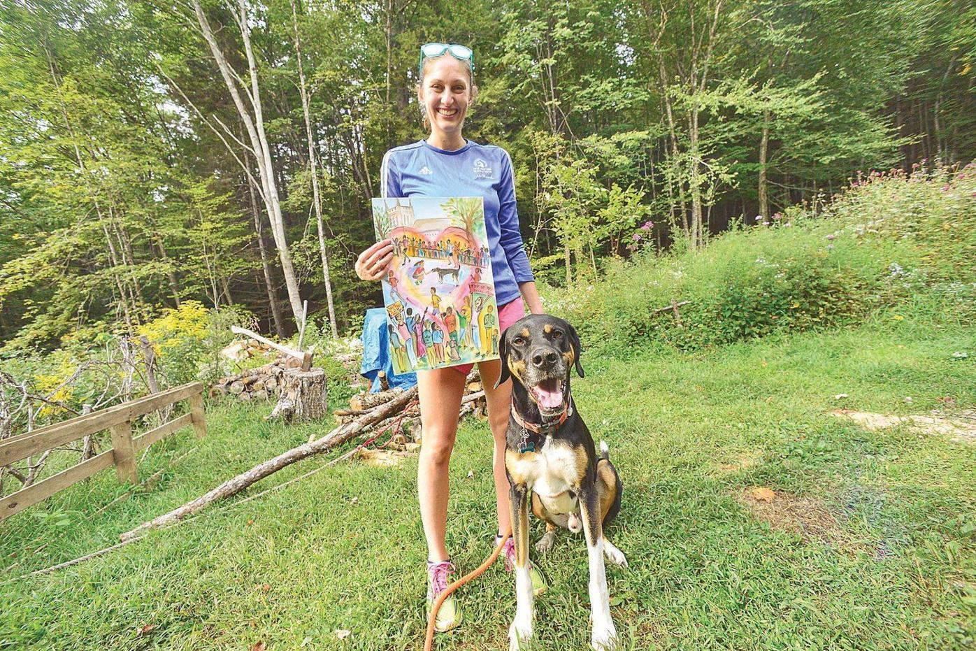 Local runner writes, illustrates children's book inspired by Boston Marathon