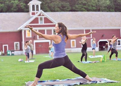 A time and place for yoga