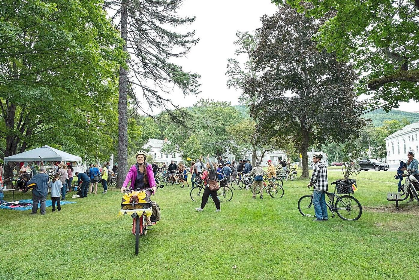 Pedal it forward for the planet