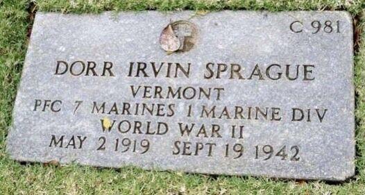 Sprague grave