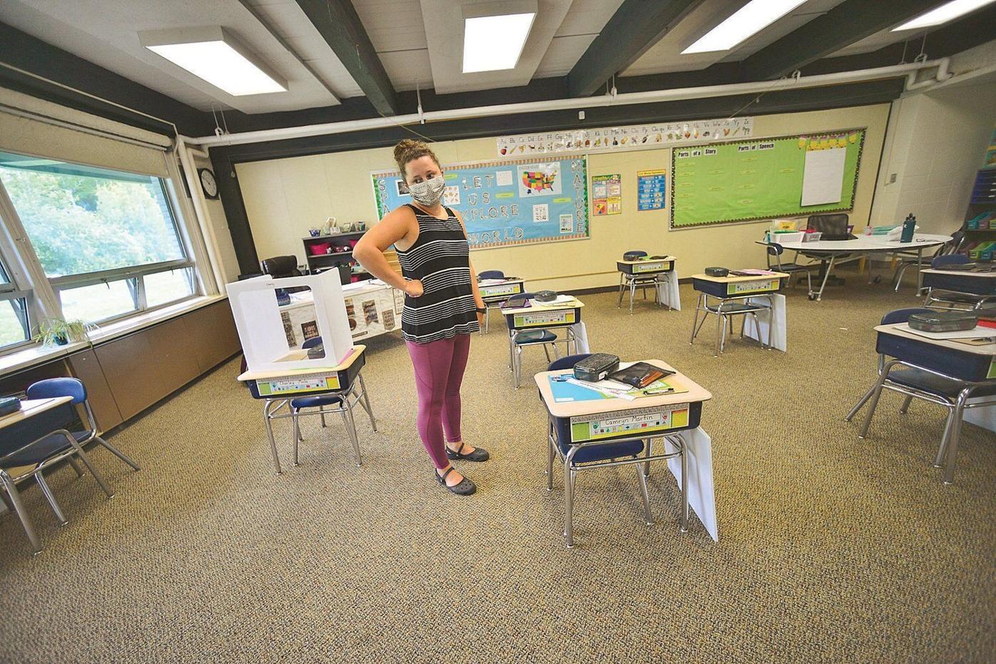 Relocated families give school enrollment a bump