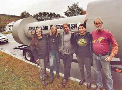 Nuclear waste awareness tour begins