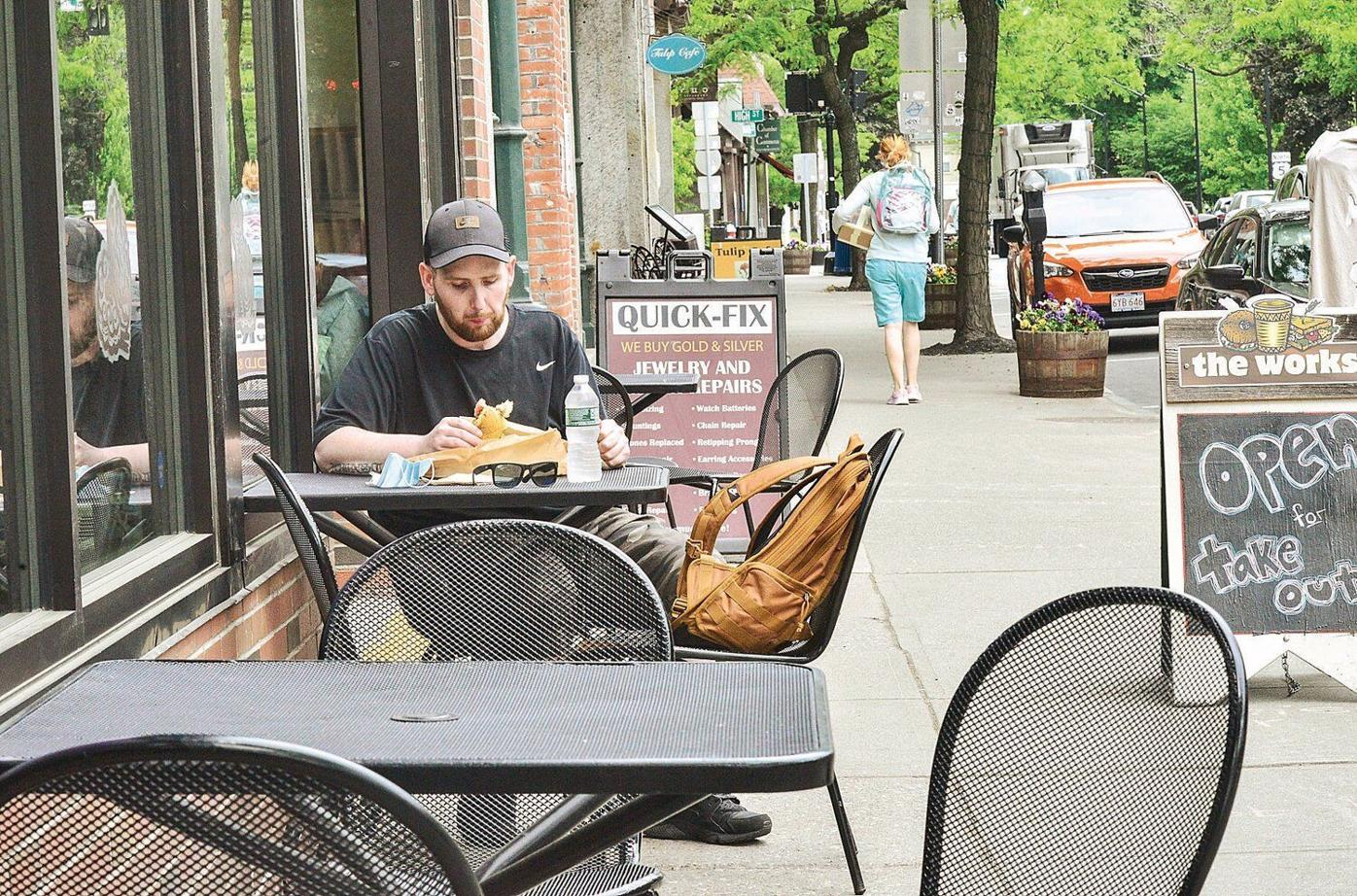 Town approves parklets, permits to help with outdoor business