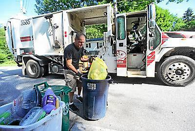 Brattleboro to reduce curbside garbage collection