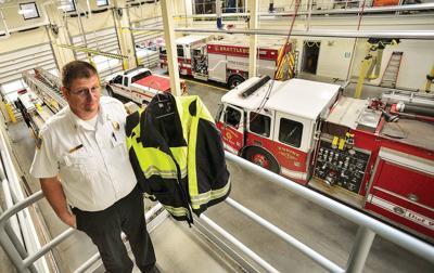 Firefighters seek donations for waterproof jackets