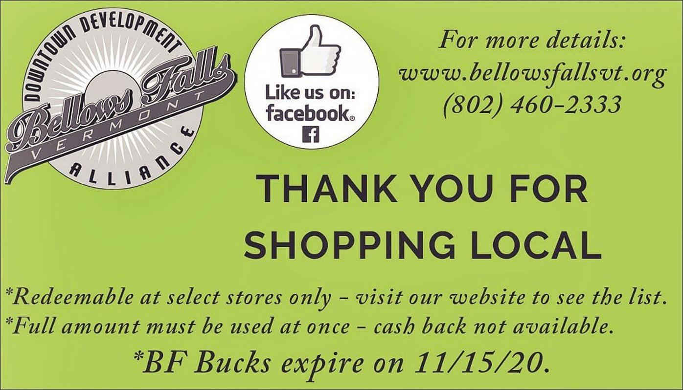 Downtown group launches BF Bucks program