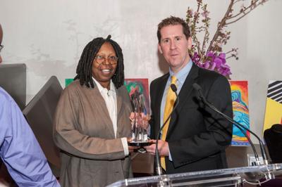 Whoopi Goldberg receives Landmark award