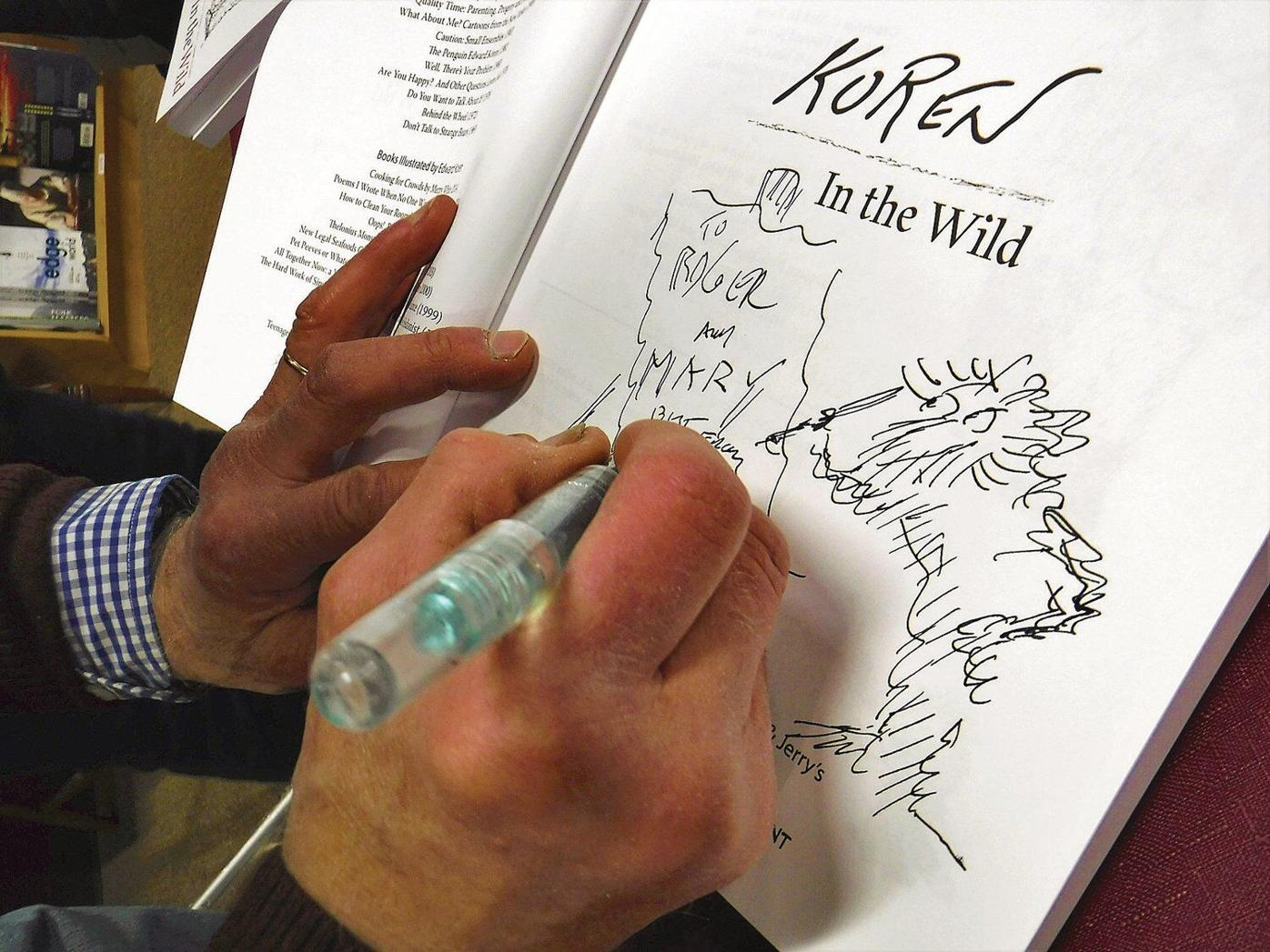 'Into The Wild' with a Vermont cartoonist