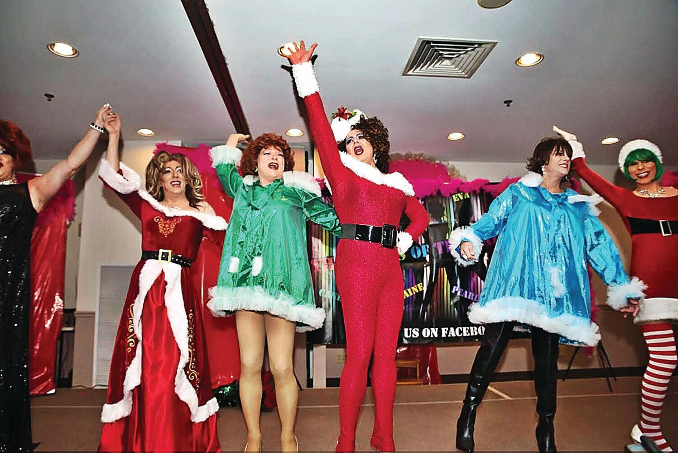 Ladies of the Rainbow spread holiday cheer
