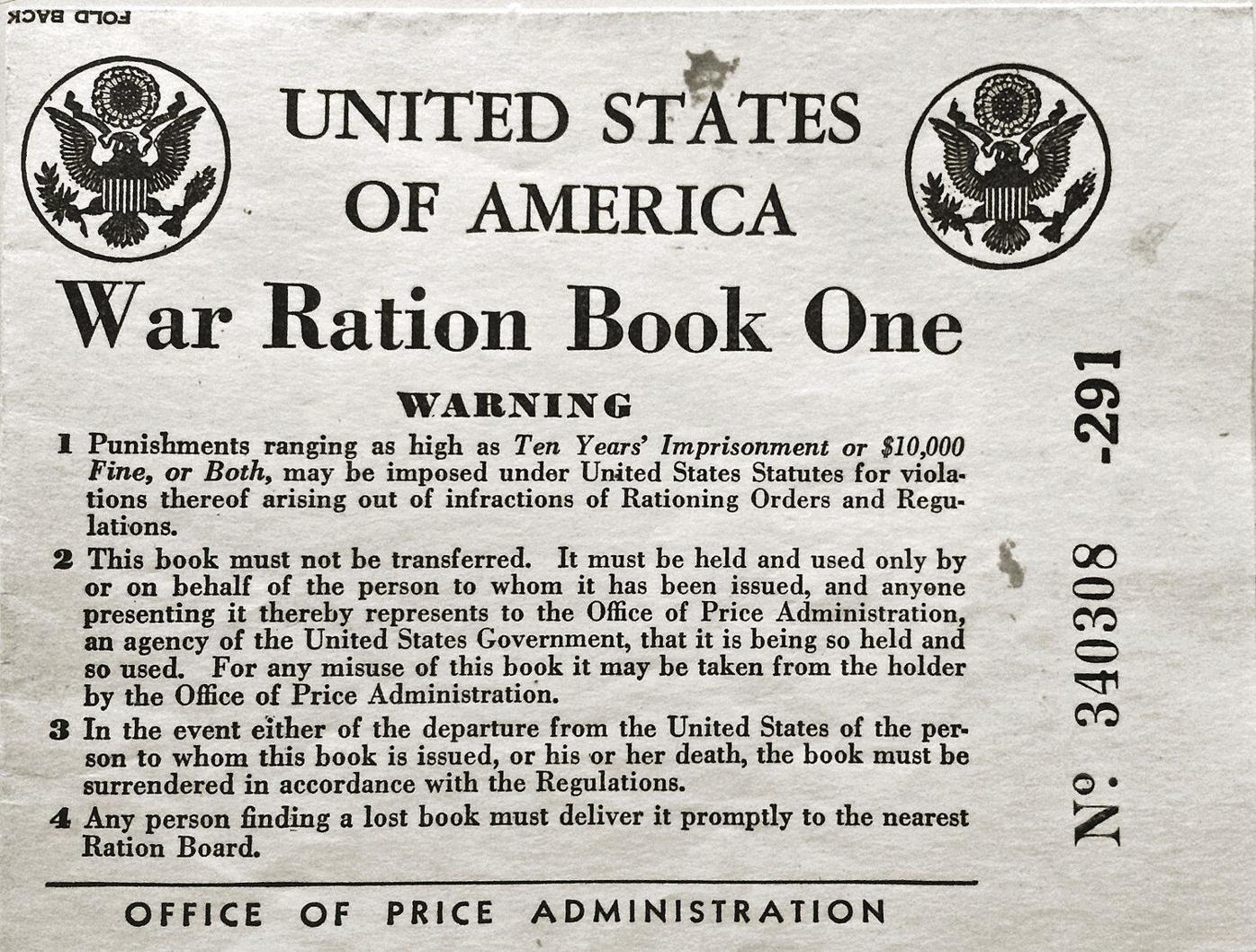 Brattleboro made World War II rationing a community effort
