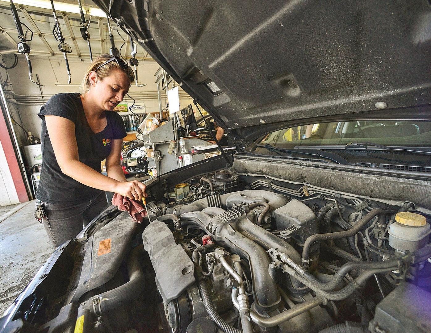 Stop & Go garage boosts women in auto workforce