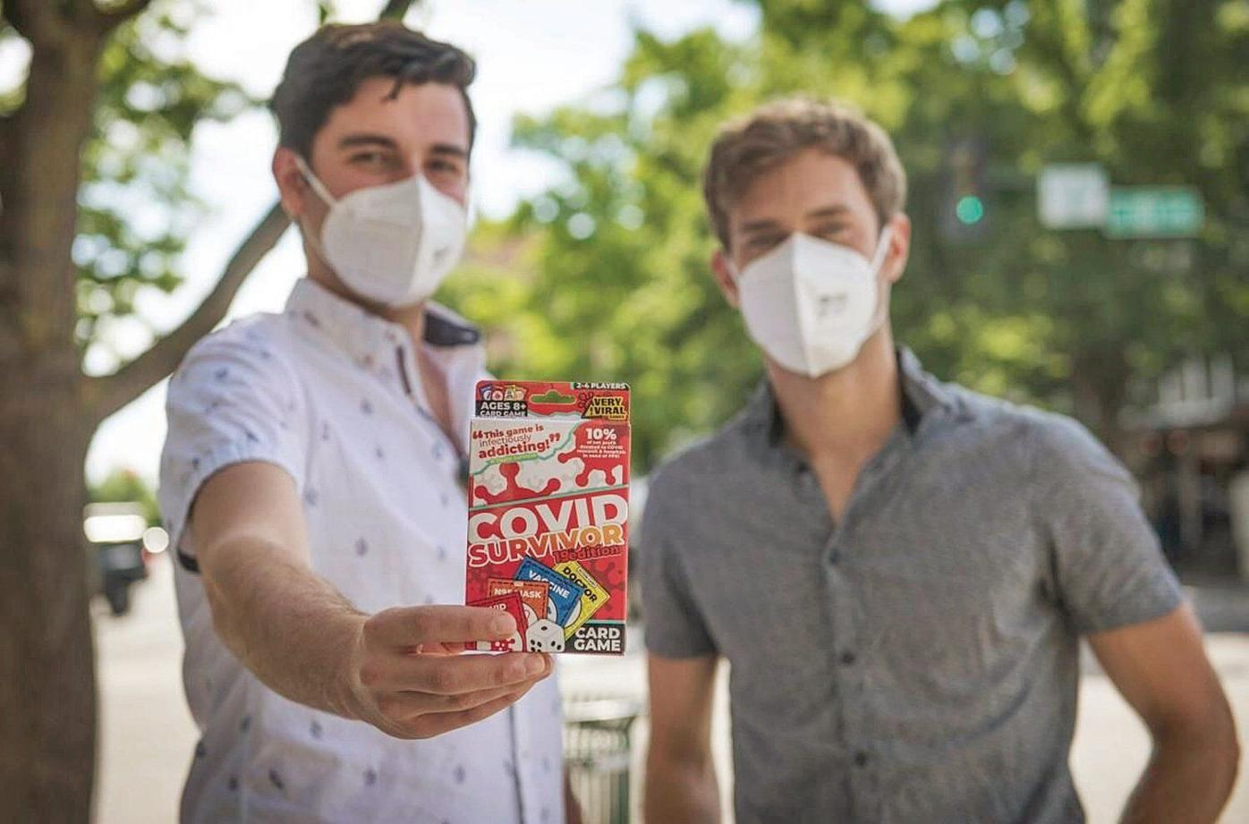 Vernon native's game deals a little fun to pandemic