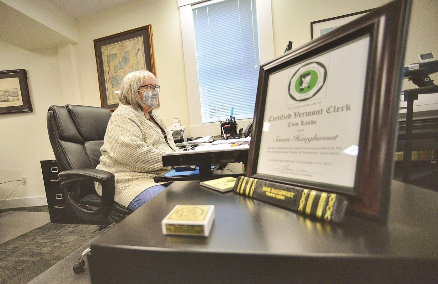 As Vermont slowly reopens, town clerks part of first wave