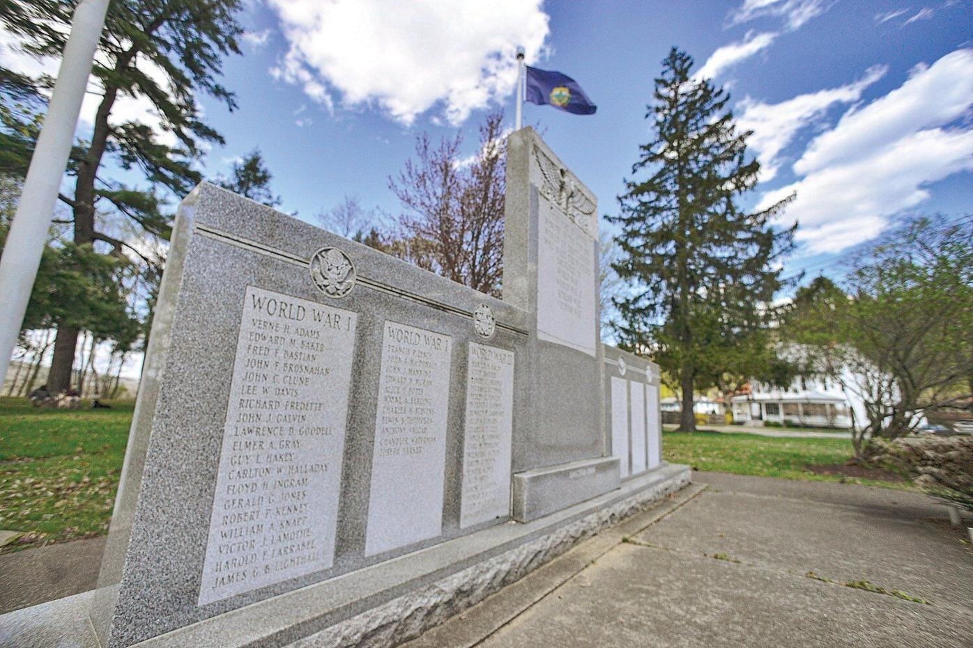 Veterans monument vandalized