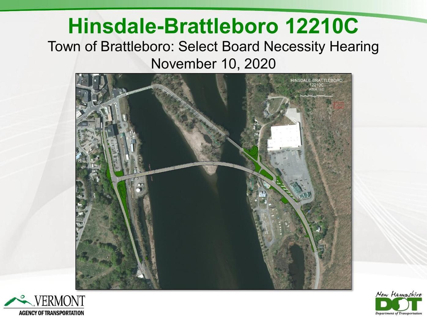 Hinsdale to Brattleboro bridge project
