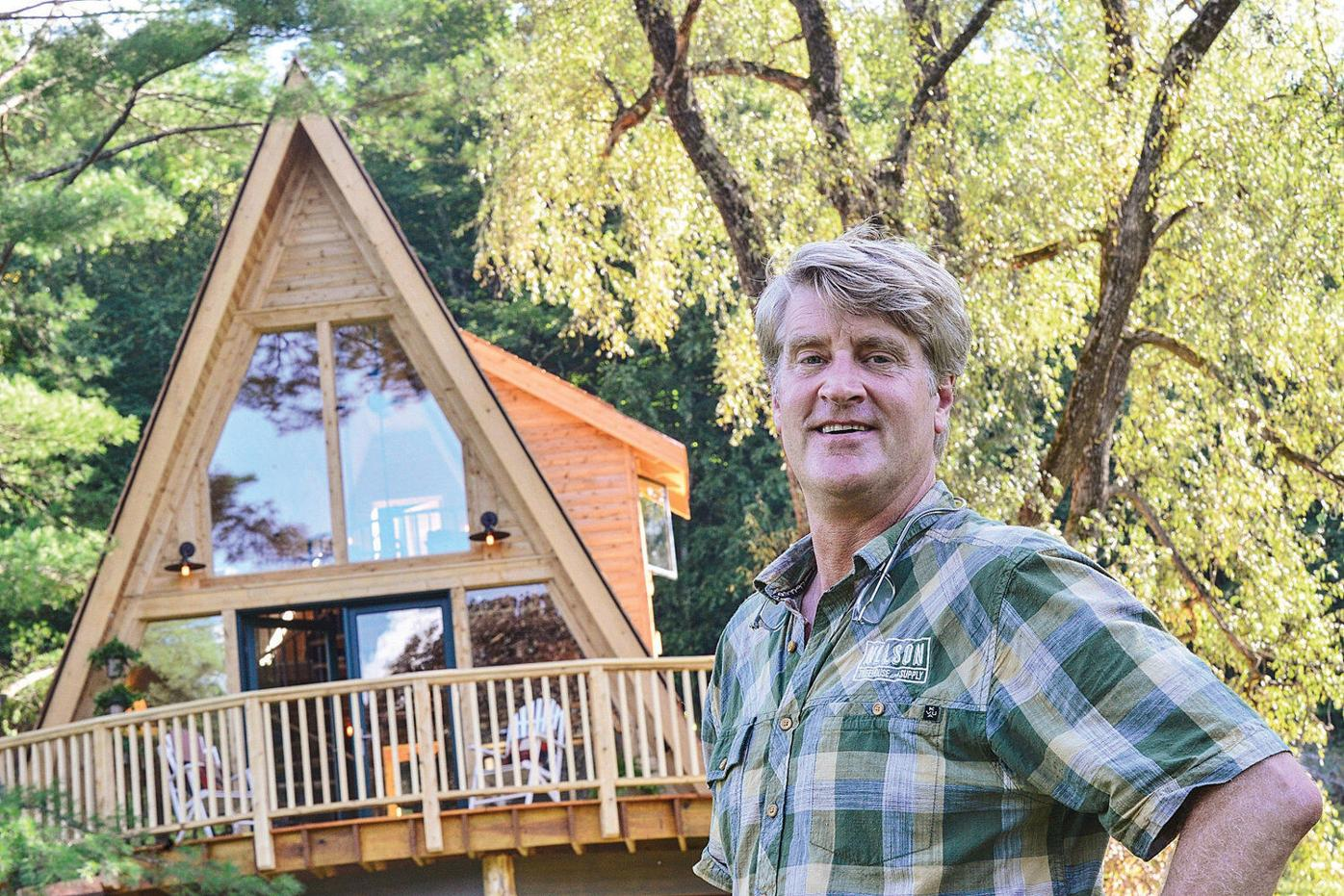 'Treehouse Masters' building off local branches