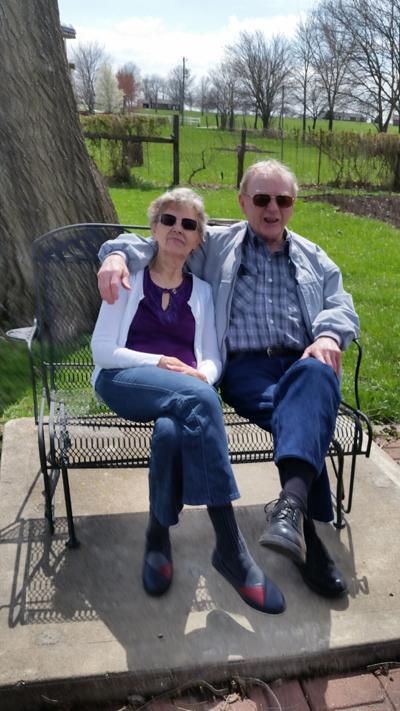 Jerry and Doris Elwood 70th Anniversary