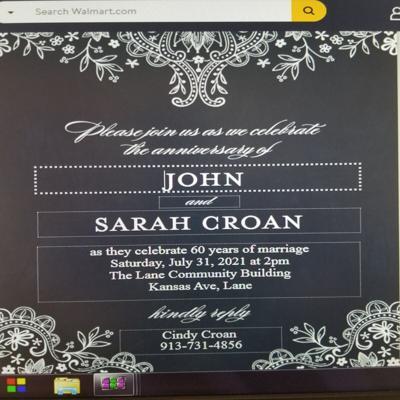 John and Sarah Croan