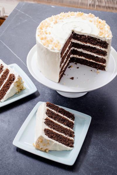 Food Column ATK Gingerbread Layer Cake