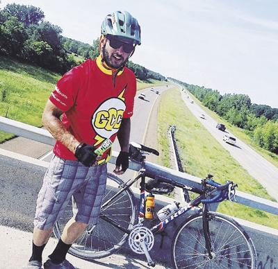 Buckridge cycling to fight children's cancer