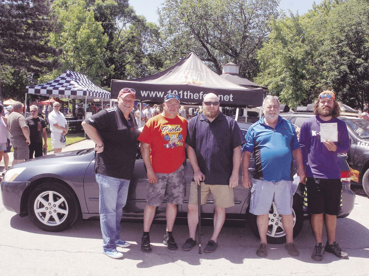 Veteran given vehicle during annual car show