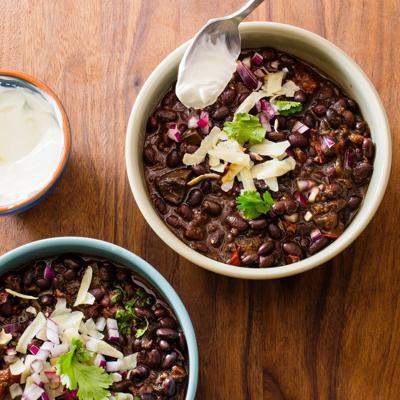 Food Column ATK Black Bean Chili