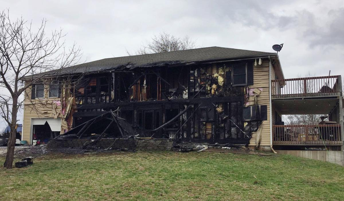 Two families lose homes in weekend fires