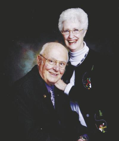 Hahns celebrating 60 years of marriage