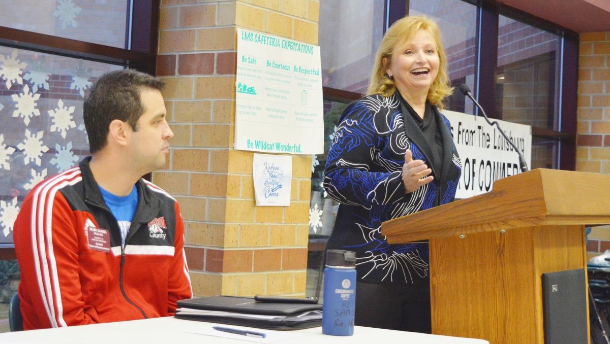 Legislators discuss KPERS, hospitals, taxes at breakfast