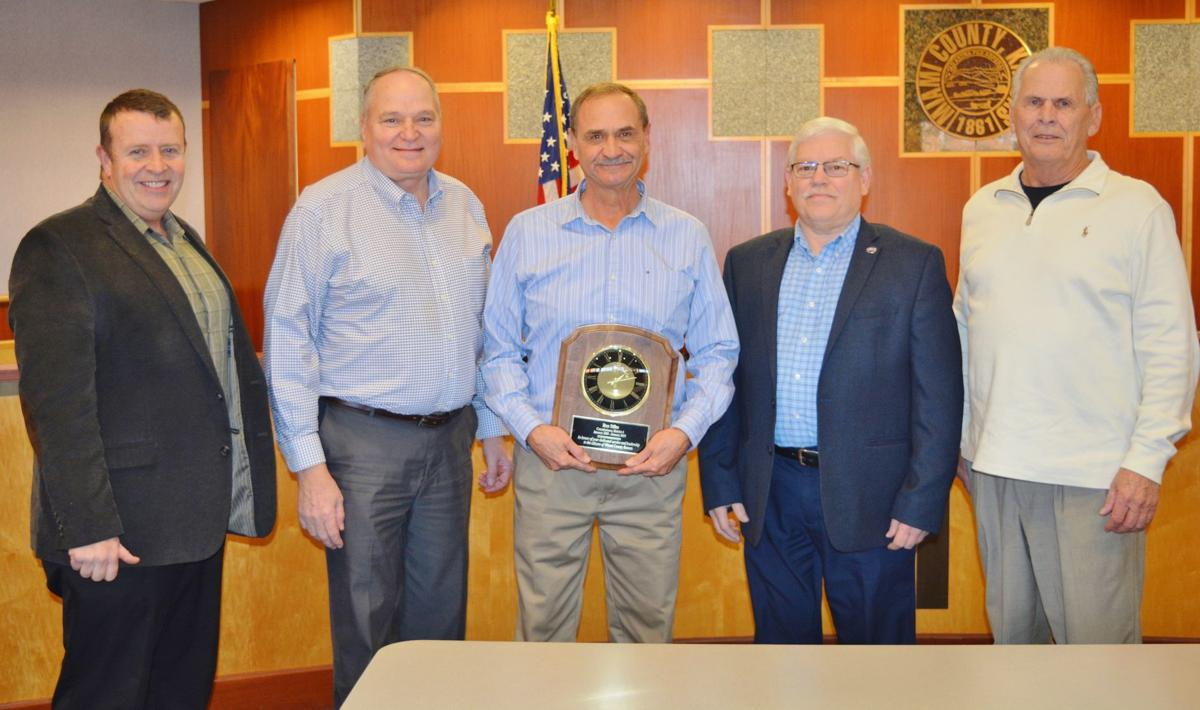 Ron Stiles honored for service on County Commission