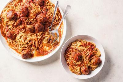 Food Column ATK Meatballs and Marinara