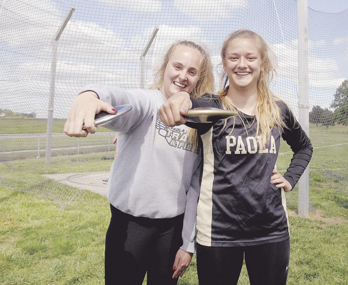 Paola boys, girls runner-up in league track meet