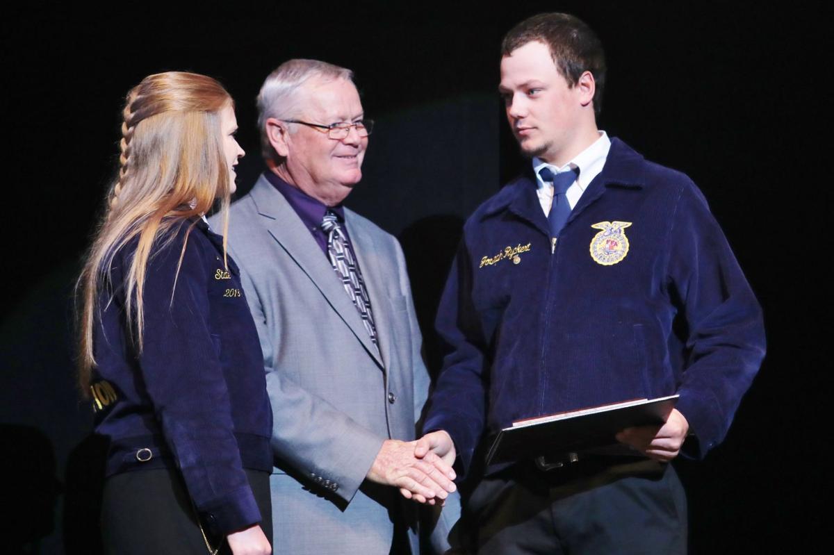 Local FFA members win state proficiency awards