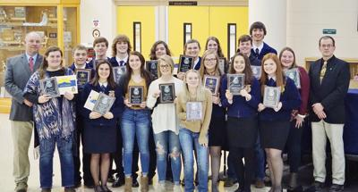 Paola FFA students honored during chapter banquet