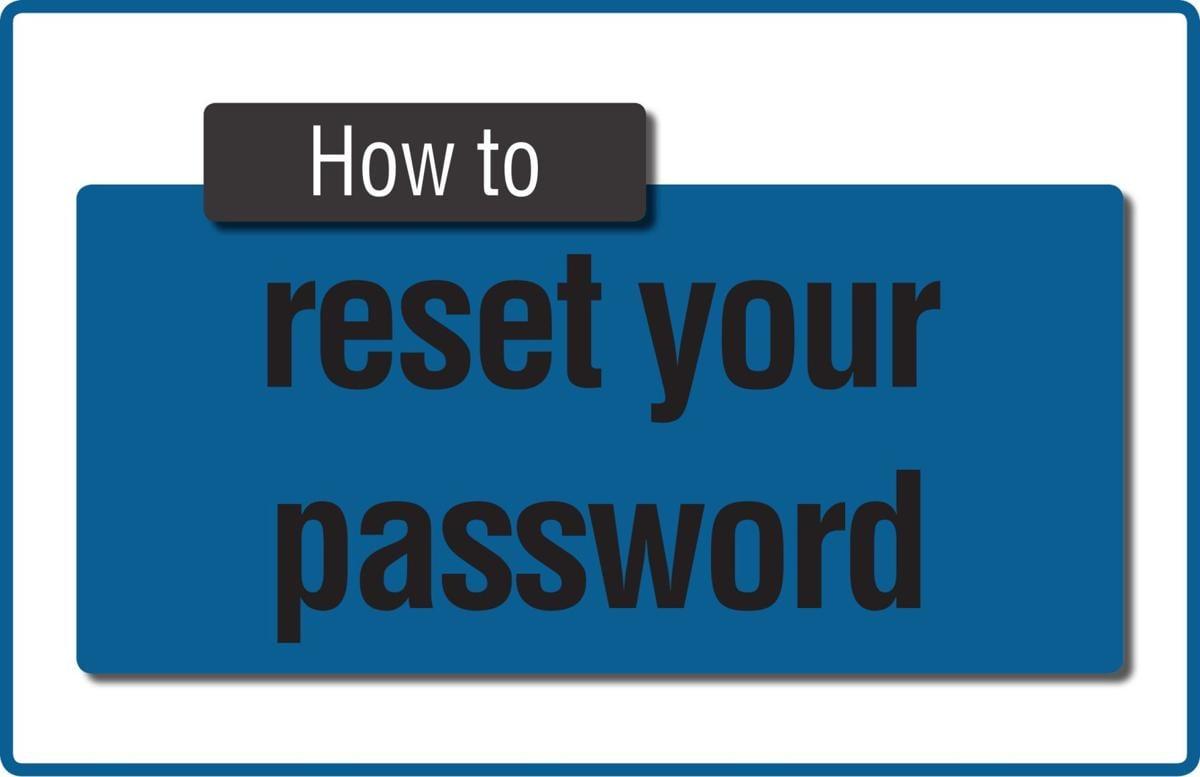 TIP SHEET: Password reset