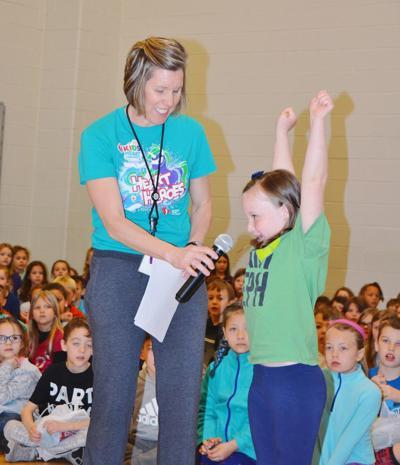 Rockville Elementary receives physical education award
