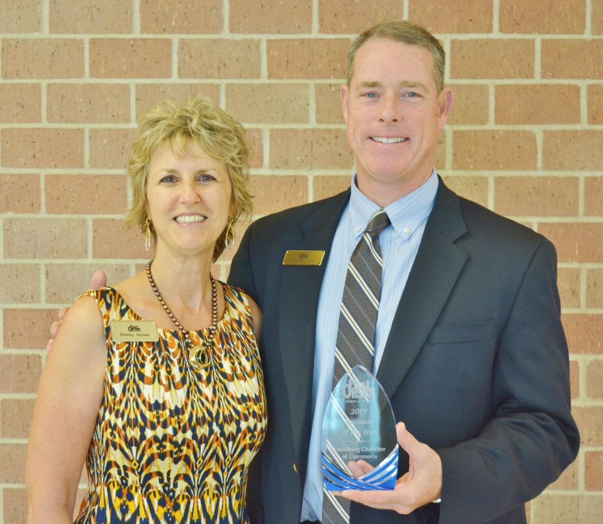 First Option Bank named business of the year