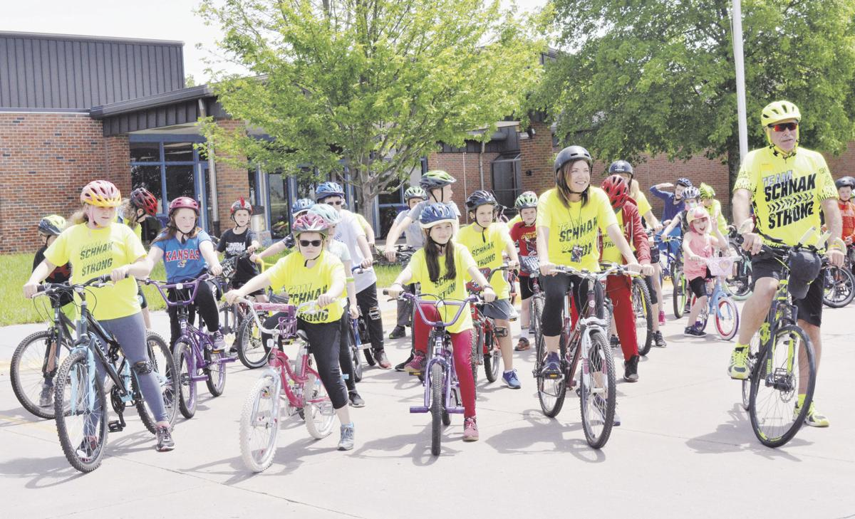 All-school bike ride is a hit at Sunflower