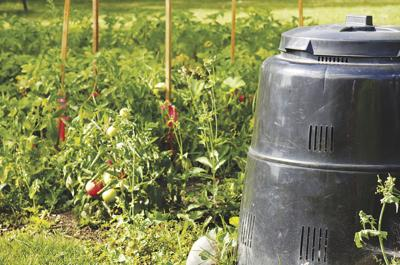 Compost is part of the circle of life in gardens